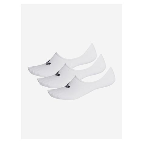 Ponožky adidas Originals Low Cut Sock 3P Bílá