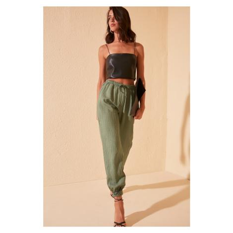 Trendyol Green Jogger Pants
