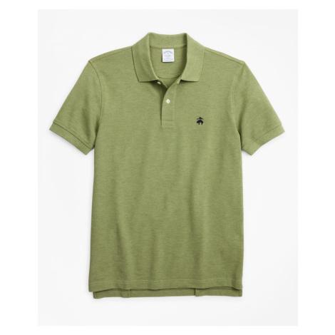 Polokošile Brooks Brothers Slim Fit Supima Cotton Performance Polo Shirt - Zelená