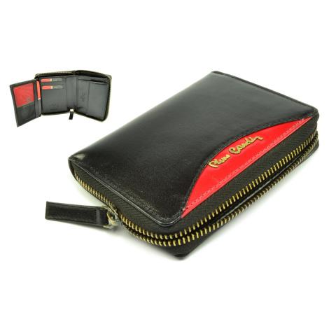 Černá peněženka kožená pánská Pierre Cardin