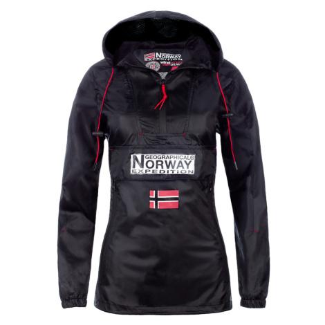 Dámská voděodolná větrovka Geographical Norway Downcity Barva: Černá