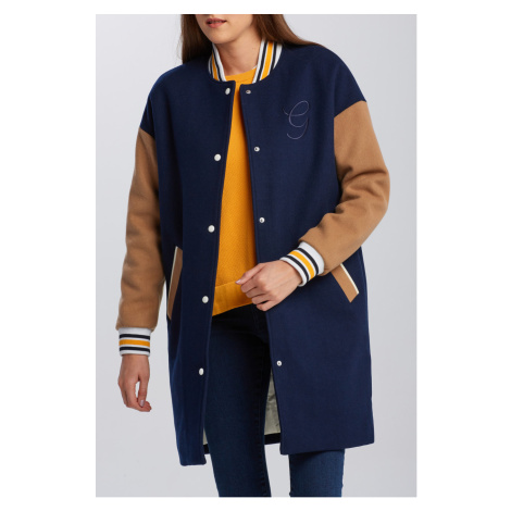 BUNDA GANT D1. LONG VARSITY COAT