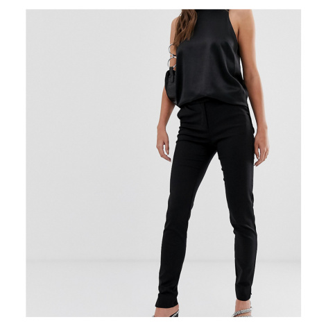 Y.A.S Tall ecco tailored ankle length cigarette trouser in black