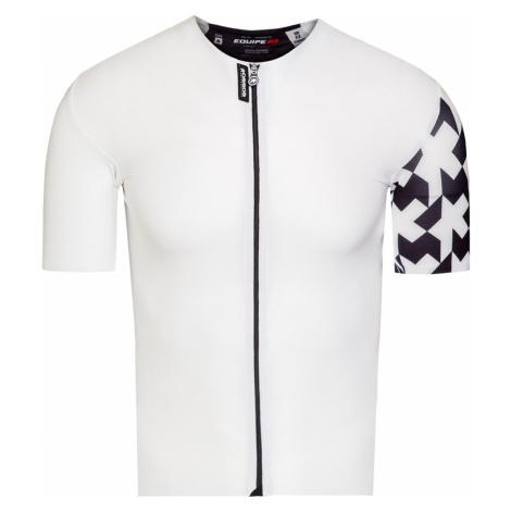 Tričko Assos EQUIPE RS AERO bílá