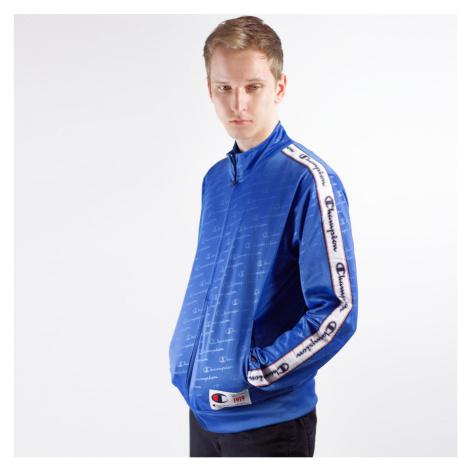 Modrá mikina Rochester Full Zip Sweatshirt Champion