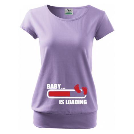 Těhotenské tričko pro budoucí maminky Baby... is loading BezvaTriko