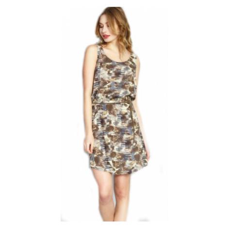 Dámské šaty Vienetta Secret Jenny | hnědá