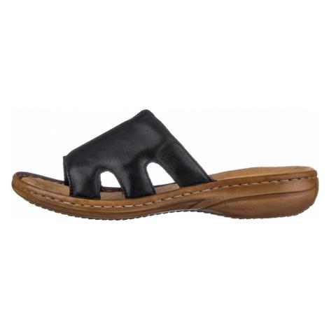 RIEKER, Pantofle  60824-00 černá EU 41