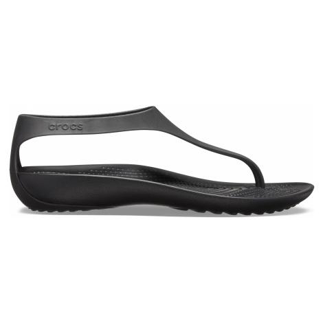 Crocs Crocs Serena Flip W Black/Black W6
