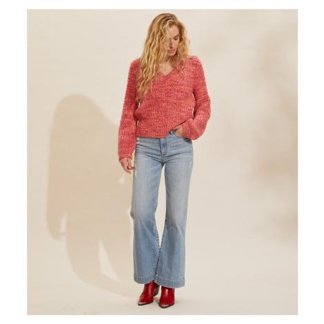 Svetr Odd Molly Tilda Sweater - Růžová