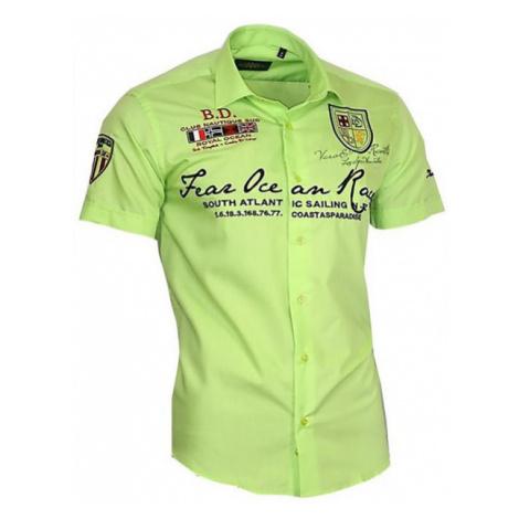 BINDER DE LUXE košile pánská 80607 krátký rukáv