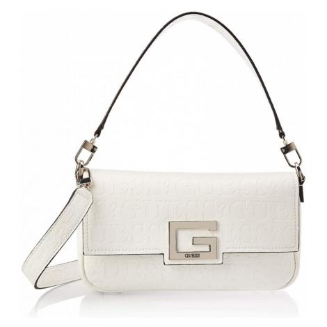 Guess GUESS dámská bílá kabelka BRIGHTSIDE SHOULDER BAG