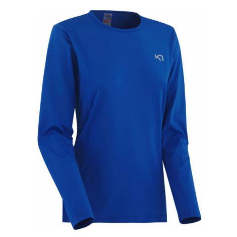 KARI TRAA NORA LS tmavě modrá - Dámské sportovní triko s dlouhým rukávem