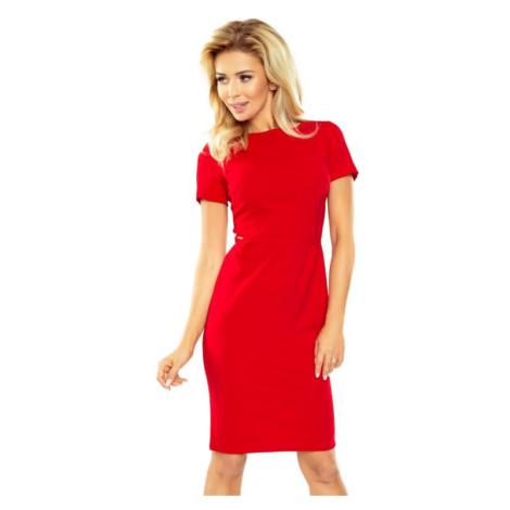 Dámské šaty Numoco 150-2 | červená