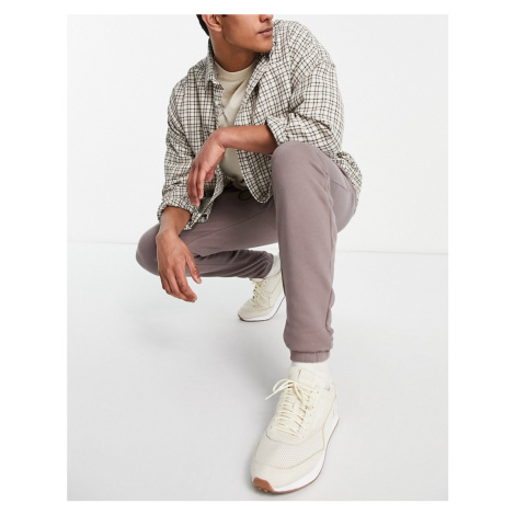 Good For Nothing joggers in taupe-Brown