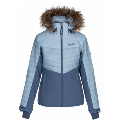 KILPI Dámská lyžařská bunda - větší velikosti BREDA-W LLX020KILBL Bílo/Modrá