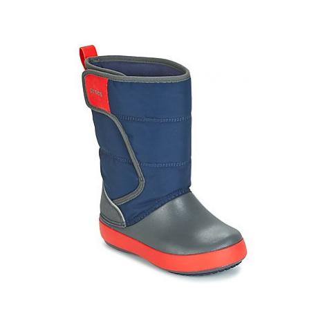 Crocs LODGEPOINT SNOW BOOT K Modrá