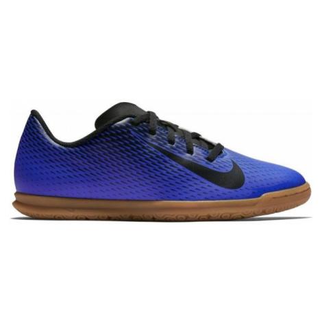 Nike JR BRAVATA IC tmavě modrá - Dětská sálová obuv