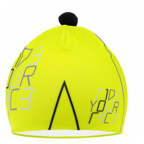 R2 POMPON Funkční čepice ATK03F žlutá