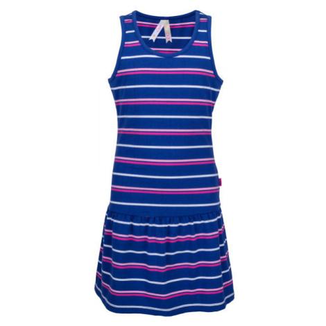 Lewro LAYA modrá - Dívčí šaty