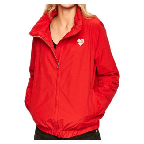 Červená bunda - LOVE MOSCHINO