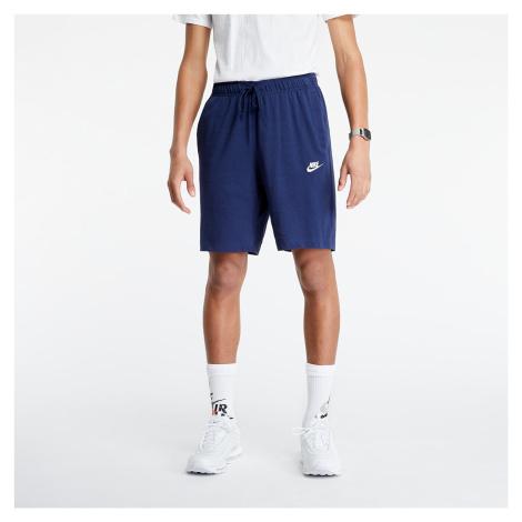 Nike Sportswear JSY Club Shorts Midnight Navy/ White