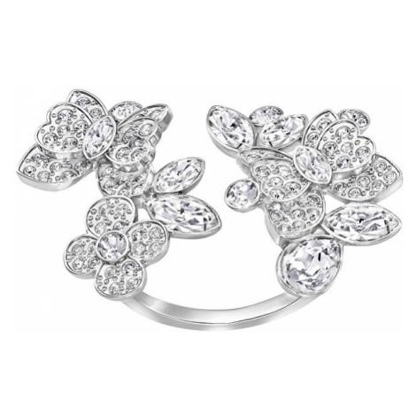 Swarovski Luxusní otevřený prsten s krystaly Swarovski