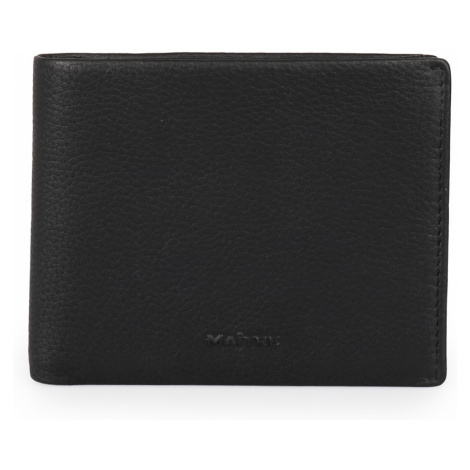 Maître Pánská kožená peněženka Schwarzerden gilbrecht 4060001507 - černá Maitre