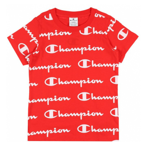 Champion Authentic Athletic Apparel Tričko červená
