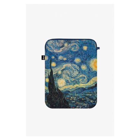 Modrý obal na notebook Vincent van Gogh The Starry Night LOQI