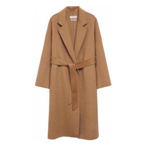 MANGO Přechodný kabát 'batin' hnědá