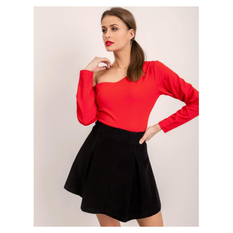 Black BSL corduroy skirt Fashionhunters