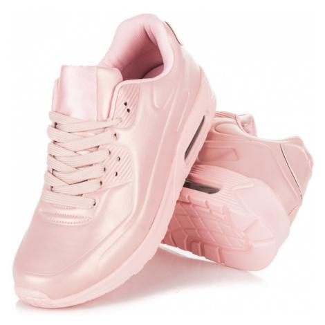 Dámské růžové stylové sportovní tenisky CNB