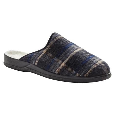 Blancheporte Pohodlné pánské pantofle šedá