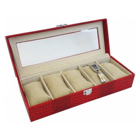 JK BOX SP-936/A7, Kazeta na hodinky červená JKbox