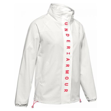 Dámská bunda Under Armour Recover Woven Bílá / Růžová
