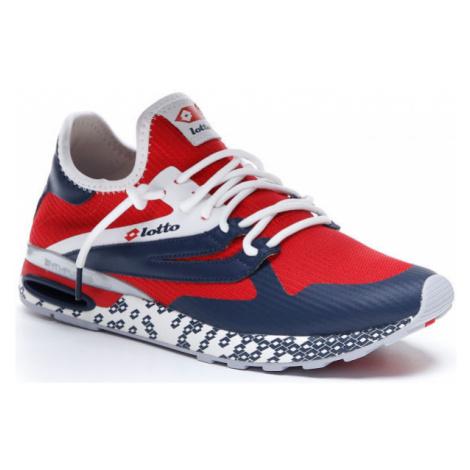 Lotto ATHLETICA RUN LIGHT červená - Pánská volnočasová obuv