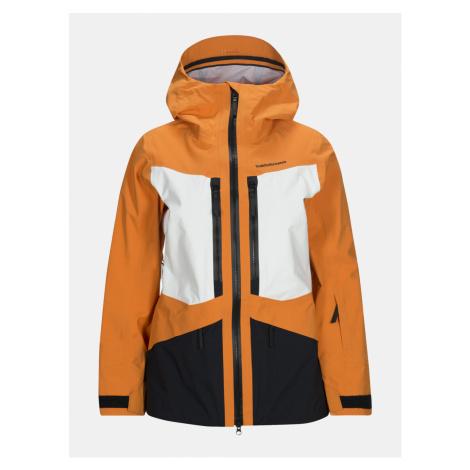 Bunda Peak Performance W Grav J Active Ski Jacket - Oranžová