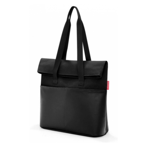 Taška přes rameno Reisenthel Foldbag Canvas black