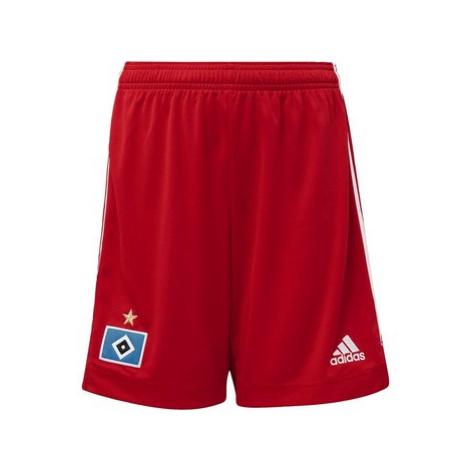 Adidas Domácí šortky Hamburger SV 20/21 Červená