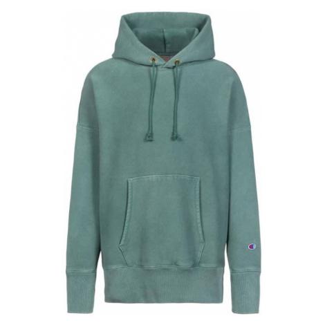 Champion Hooded Sweatshirt zelené 214925_F20_GS531