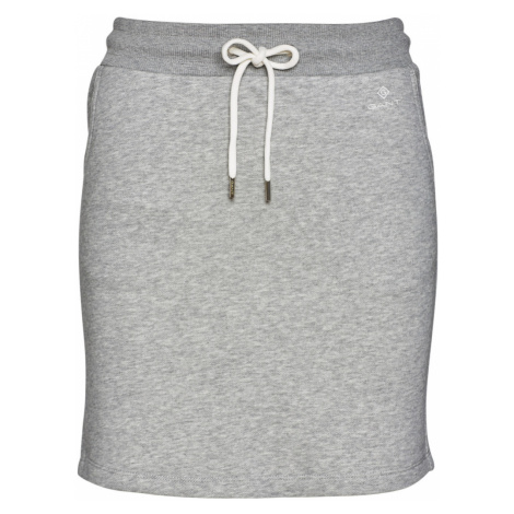 SUKNĚ GANT D1. GANT LOCK UP SWEAT SKIRT