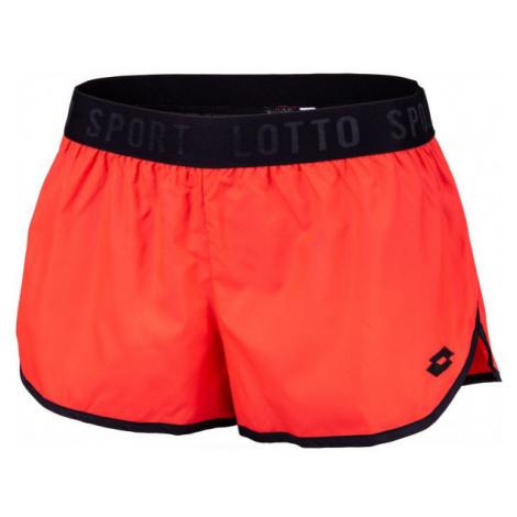 Lotto VABENE W II SHORT PL oranžová - Dámské šortky