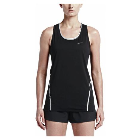Dámské tílko Nike Run Free Framed Černá / Bílá