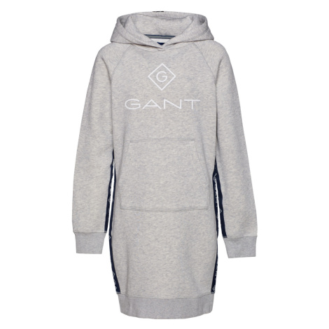 ŠATY GANT D1. LOCK UP STRIPE HOODIE DRESS