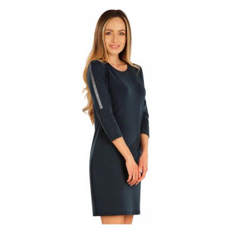 Dámské elegantní šaty Litex 7A126   tmavě modrá