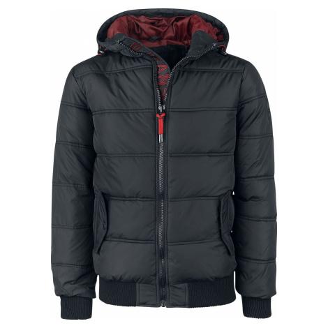 Indicode Adrian Zimní bunda černá
