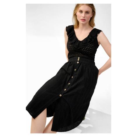 Áčková midi sukně Orsay