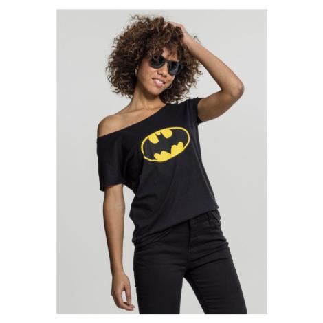 Ladies Batman Logo Tee Merchcode