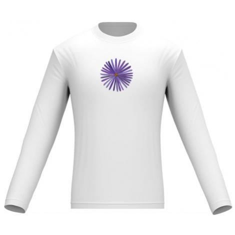 Pánské tričko dlouhý rukáv Květina